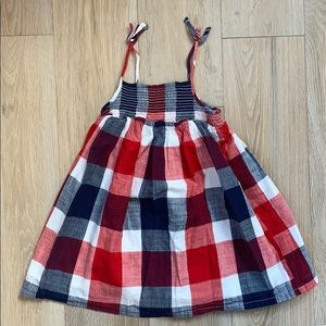 Old navy toddler red white and blue dress